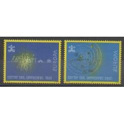 Vatican - 1994 - No 984/985 - Sciences et Techniques - Europa