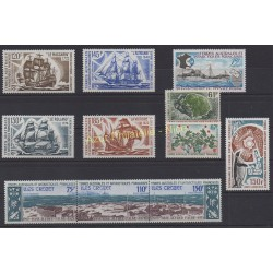 Timbres - Terres Australes et Antarctiques Françaises - Année complète - 1974 - No 52/54 et PA30/PA37
