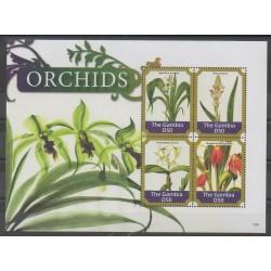 Gambie - 2015 - No 5543/5546 - Orchidées