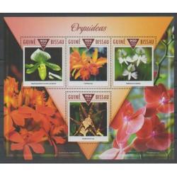 Guinée-Bissau - 2015 - No 5856/5859 - Orchidées