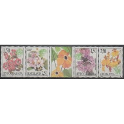 Yougoslavie - 1997 - No 2687/2690 - Fleurs