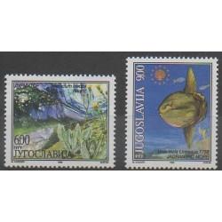 Yougoslavie - 1998 - No 2718/2719 - Animaux marins - Environnement