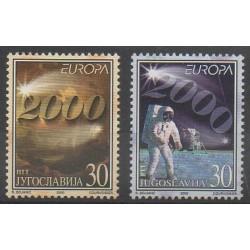 Yougoslavie - 2000 - No 2822/2823 - Espace - Europa