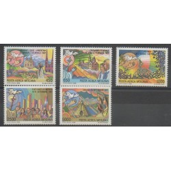 Vatican - 1988 - Nb PA83/PA87 - Religion - Pope