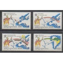 Vatican - 1992 - Nb PA92/PA95 - Pope
