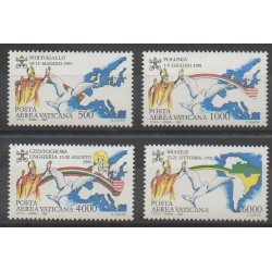 Vatican - 1992 - No PA92/PA95 - Papauté