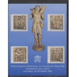 Vatican - 1998 - No BF18 - Art - Philatélie