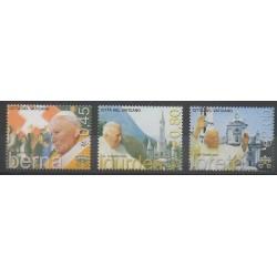 Vatican - 2005 - No 1383/1385 - Papauté