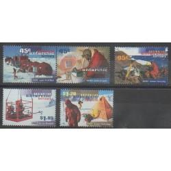 Australie - territoire antarctique - 1997 - No 110/114 - Polaire