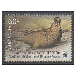Australie - territoire antarctique - 2011 - No 196 - Mammifères - Polaire - Espèces menacées - WWF