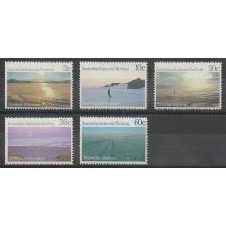 Australie - territoire antarctique - 1987 - No 74/78 - Polaire
