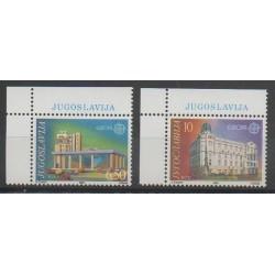 Yougoslavie - 1990 - No 2283/2284 - Service postal - Europa