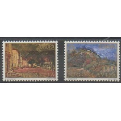 Yougoslavie - 1977 - No 1573/1574 - Peinture - Europa