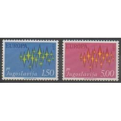 Yugoslavia - 1972 - Nb 1343/1344 - Europa