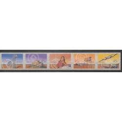 Australie - 2001 - No 1954/1958 - Service postal - Télécommunications