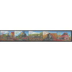 Australia - 2004 - Nb 2229/2233 - Trains