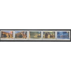 Australia - 2004 - Nb 2177/2181 - Bridges