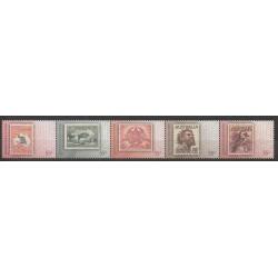 Australie - 2009 - No 3088/3092 - Timbres sur timbres