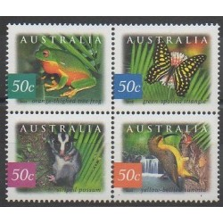 Australie - 2003 - No 2127/2130 - Animaux