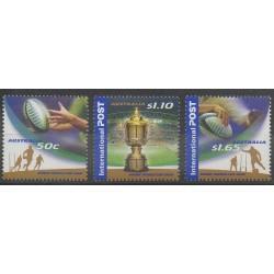 Australia - 2003 - Nb 2161/2163 - Various sports