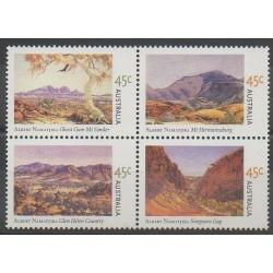 Australia - 2002 - Nb 2037/2040 - Paintings