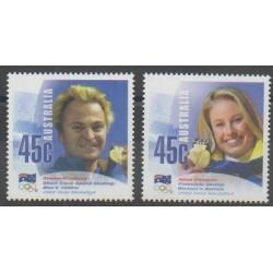 Australie - 2002 - No 2018/2019 - Sports divers