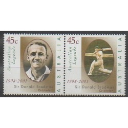 Australie - 2001 - No 1919/1920 - Sports divers