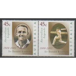 Australie - 2001 - No 1919/1920 - Sports divers