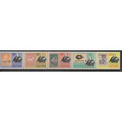 Christmas (Iles) - 1979 - No 127/131 - Timbres sur timbres