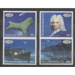 Christmas (Iles) - 1986 - No 215/218 - Astronomie