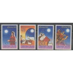 Christmas (Iles) - 1989 - No 300/303 - Noël