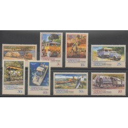 Christmas (Iles) - 1990 - No 306/313 - Transports