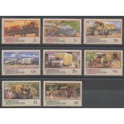 Christmas (Iles) - 1990 - No 320/327 - Transports