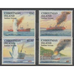 Christmas (Iles) - 1992 - No 369/372 - Seconde Guerre Mondiale
