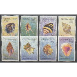 Christmas (Iles) - 1992 - No 373/380 - Animaux marins