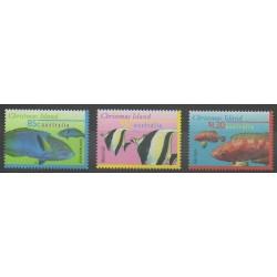 Christmas (Island) - 1997 - Nb 437/439 - Sea animals