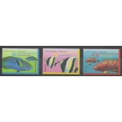 Christmas (Iles) - 1997 - No 437/439 - Animaux marins