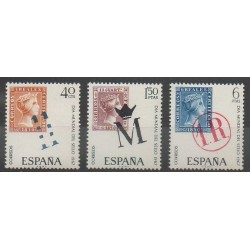 Spain - 1967 - Nb 1451/1453 - Stamps on stamps