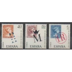 Espagne - 1967 - No 1451/1453 - Timbres sur timbres
