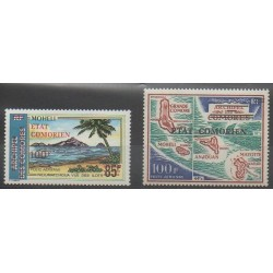 Comores - 1975 - No PA78/PA79