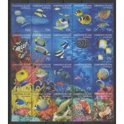 Christmas (Island) - 2004 - Nb 535/554 - Sea animals