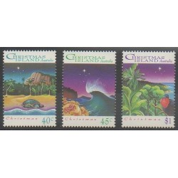 Christmas (Iles) - 1993 - No 396/398 - Noël