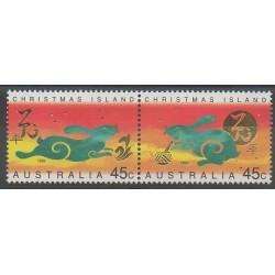 Christmas (Iles) - 1999 - No 468/469 - Horoscope