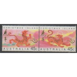Christmas (Island) - 1998 - Nb 443/444 - Horoscope