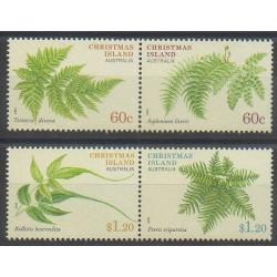 Christmas (Island) - 2012 - Nb 730/733 - Flora