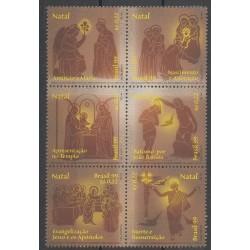 Brazil - 1999 - Nb 2536/2541 - Christmas