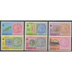 Trinité et Tobago - 1979 - No 400/405 - Timbres sur timbres