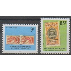 Polynesia - 1997 - Nb S27/S28 - Stamps on stamps
