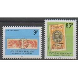Polynésie - 1997 - No S27/S28 - Timbres sur timbres