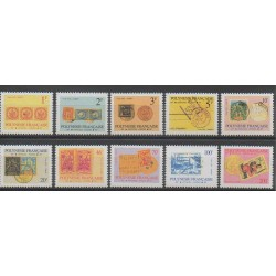 Polynesia - 1993 - Nb S16/S25 - Stamps on stamps